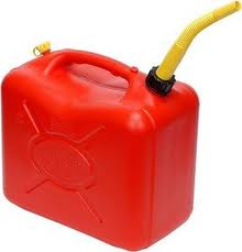 gas can with spout